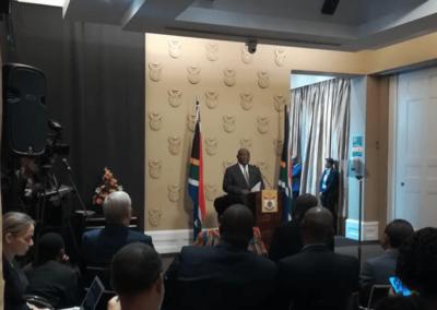 MONELii, Teleprompting, broadcasting, full service production, Ramaphosa, Cyril Ramaphosa